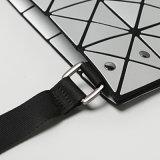 Signora geometrica rombica grigia Handbag (A074-5) dell'unità di elaborazione del Matt