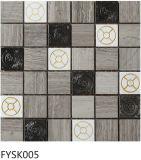 Mosaico di pietra naturale del marmo delle mattonelle delle mattonelle di pavimento (FYSK005)