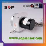 Sensore di spostamento della corda dell'uscita di tensione per la macchina per l'imballaggio delle merci