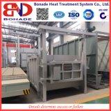 fornalha em forma de caixa da temperatura 45kw média para o tratamento térmico