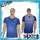 OEM Custom Printed High Quality Polyester Rugby Jersey