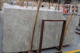 Brames de marbre grises de château en pierre normal pour le revêtement/plancher de mur