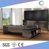 Muebles de oficinas modificados para requisitos particulares vector elegante de la protuberancia del escritorio