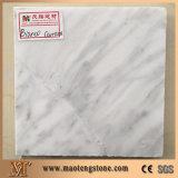 steen van Volakas van de Dikte van 1.8cm de Witte Natuurlijke Marmeren