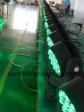 Lumière principale mobile d'oeil de bourdon de l'étape RGBW