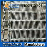 SUS304 materieller gerader laufender flexibler Rod schneller Frost-Ineinander greifen-Riemen für Nahrungsmitteldas aufbereiten