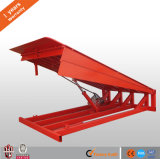 Rampe hydraulique de niveleur d'embarcadère de conteneur