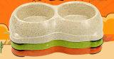Bol en bambou d'aliment pour animaux familiers de fibre de vente chaude (BC-P1009)