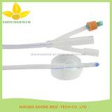 Cateter Urethral do cateter de sentido único do PVC Nelaton