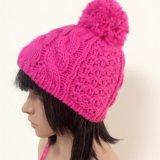 100% laines de l'Islande, chapeaux à crochet de mode fabriquée à la main avec la décoration