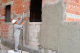 吹きかかる熱い半自動石灰機械を塗る