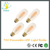 Stoele T45 UL al por mayor de Dimmable LED Bombillas Nostálgico