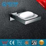 Estante plateado Chrom de lujo de la toalla del precio del cuarto de baño