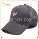 Amerikanische Flagge kundenspezifische Entwurfs-Baseball-Sport-Schutzkappe