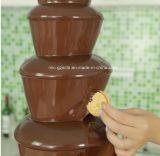 Высокое качество 5 шоколада слоев машины фонтана для оптовой продажи
