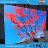 P2 HD Full Color LED Video Wall para uso en interiores