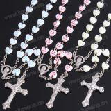 Collana religiosa di plastica Colourful del rosario, 59 rosari dei branelli
