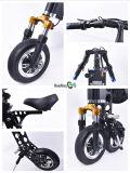 E-Bicicleta de dobramento de pouco peso de dobramento com certificado do TUV