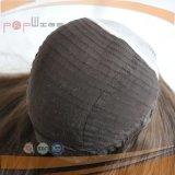 Parrucca nera superiore delle donne del lavoro di Shevy dei capelli umani di colore del Virgin della pelle