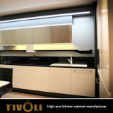 現代カスタム設計しなさい安いMDF PVC PUの絵画台所家具(AP005)を