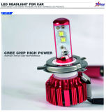 A nova fabricação de LEDs apresenta um farol brilhante sem farofos com faróis de carro de 40 watts com conector de plug and play de ventilador