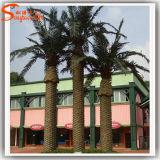 Albero d'acciaio artificiale della palma da datteri di vendita calda per la decorazione dell'hotel