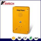 SIPの電話緊急ボタンの電話Knzd-39自動ダイヤル電話ヘルプポイント