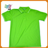 T-shirt maioria do polo do costume 60%Cotton 40%Polyester 180GSM (HYT-s 04)