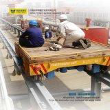 Carrello elettrico industriale d'acciaio di trasferimento di tonnellate Bjt-15 con le rotaie