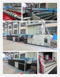 Les tuiles de toit de PVC faisant des machines ont coloré la tuile de trois couches/ligne de émulsion intérieure d'extrusion