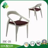 Cadeira moderna da parte traseira redonda da faia do estilo para o restaurante (ZSC-25)