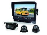sistema da câmera de opinião traseira do carro da visão noturna do monitor do carro de 7inch Digitas