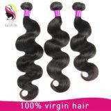 Extensão brasileira do cabelo humano de Remy do Virgin não processado por atacado da classe 7A