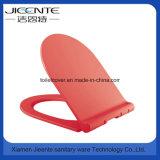 Asiento y cubierta de tocador en la línea dimensión de una variable de los PP Slimed del plástico de U