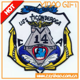 Patch de bordado de PVC de cabra atacado animal (YB-HR-64)