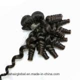 Het Peruviaanse Haar van het Weefsel van het Menselijke Haar van Remy van de Krul van de manier