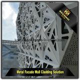 Comitato di parete di alluminio esterno della costruzione commerciale con figura moderna