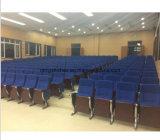 Stoel van het Auditorium van de Benen van het aluminium de Bevindende met ABS het Schrijven Tablet