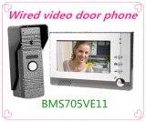 Téléphone visuel de porte de 7 pouces avec l'interphone de sonnette