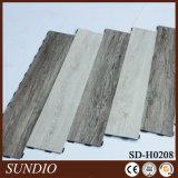 Plancher sud-américain de luxe de vinyle de PVC en bois de chêne