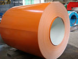 Le prix usine a laminé à froid la bobine en acier galvanisée enduite d'une première couche de peinture enduite par couleur
