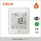 Thermostaat van de Zaal van de Vloerverwarming van WiFi de Slimme met Afstandsbediening voor Ios/de Androïde Telefoon van de Cel