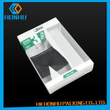 Caixas de empacotamento do roupa interior por atacado da impressão da sustentação
