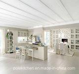 Neues modulares Melamin 2017 Belüftung-hölzerner Küche-Schrank