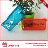 Saco cosmético transparente barato da composição do PVC da fábrica por atacado