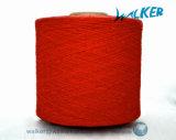 Filato cardato di lavoro a maglia mescolato cotone riciclato