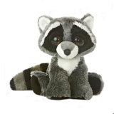Giocattolo della peluche del Raccoon farcito abitudine