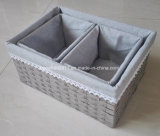 Rectángulo de almacenaje de los cabritos en hogar