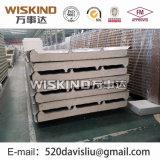 El panel de emparedado de la PU del material para techos