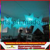 2016 luz inflable de la estrella de la venta caliente LED para las estrellas inflables colgantes al aire libre del LED
